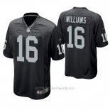 Camiseta NFL Game Hombre Oakland Raiders Tyrell Williams Negro