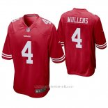 Camiseta NFL Game Hombre San Francisco 49ers Nick Mullens Rojo