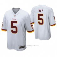 Camiseta NFL Game Hombre Washington Redskins Tress Way Blanco