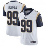 Camiseta NFL Game Los Angeles Rams 99 Aaron Donald Blanco