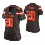 Camiseta NFL Game Mujer Cleveland Browns Tavierre Thomas Marron