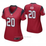 Camiseta NFL Game Mujer Houston Texans Justin Reid Rojo