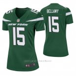 Camiseta NFL Game Mujer New York Jets Josh Bellamy Verde