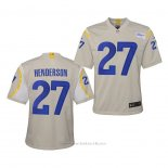 Camiseta NFL Game Nino Los Angeles Rams Darrell Henderson 2020 Blanco