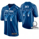 Camiseta NFL Hombre Dallas Cowboys Tyron Smith NFC 2019 Pro Bowl Azul