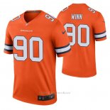 Camiseta NFL Legend Denver Broncos Billy Winn Color Rush Naranja