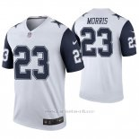 Camiseta NFL Legend Hombre Dallas Cowboys Alfred Morris Blanco Color Rush