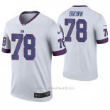Camiseta NFL Legend Hombre New York Giants Jamon Brown Blanco Color Rush