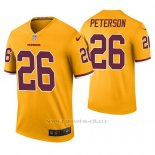 Camiseta NFL Legend Hombre Washington Redskins Adrian Peterson Oro Color Rush