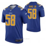 Camiseta NFL Legend Los Angeles Chargers Thomas Davis Sr Color Rush Azul