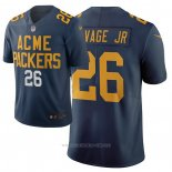 Camiseta NFL Limited Green Bay Packers Darnell Savage Jr Ciudad Edition Azul
