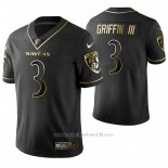 Camiseta NFL Limited Hombre Baltimore Ravens Robert Griffin III Golden Edition Negro