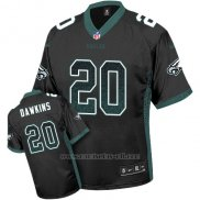 Camiseta NFL Limited Hombre Philadelphia Eagles 20 Brian Dawkins Negro Alternate Stitched Drift Fashion