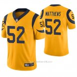 Camiseta NFL Limited Hombre St Louis Rams Clay Matthews Oro Color Rush