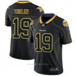 Camiseta NFL Limited Minnesota Vikings Thielen Lights Out Negro