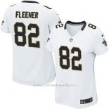 Camiseta New Orleans Saints Fleener Blanco Nike Game NFL Mujer