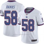 Camiseta New York Giants Banks Blanco Nike Legend NFL Hombre