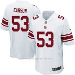 Camiseta New York Giants Carson Blanco Nike Game NFL Nino