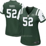 Camiseta New York Jets Harris Verde Nike Game NFL Mujer