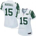 Camiseta New York Jets Marshall Blanco Nike Game NFL Mujer