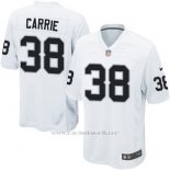 Camiseta Oakland Raiders Carrie Blanco Nike Game NFL Hombre