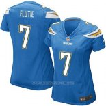 Camiseta San Diego Chargers Flutie Azul Nike Game NFL Mujer