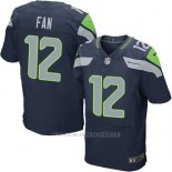 Camiseta Seattle Seahawks Fan Profundo Azul Nike Elite NFL Hombre