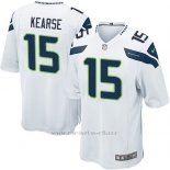 Camiseta Seattle Seahawks Kearse Blanco Nike Game NFL Nino