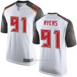 Camiseta Tampa Bay Buccaneers Ayers Blanco Nike Game NFL Hombre