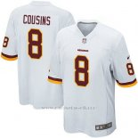 Camiseta Washington Redskins Cousins Blanco Nike Game NFL Hombre