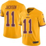 Camiseta Washington Redskins Jackson Amarillo Nike Legend NFL Hombre