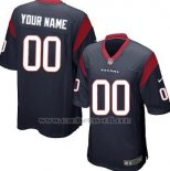 Camisetas NFL Limited Houston Texans Personalizada Negro