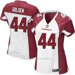 Camiseta Arizona Cardinals Golden Blanco Rojo Nike Game NFL Mujer