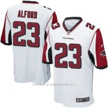 Camiseta Atlanta Falcons Alford Blanco Nike Game NFL Nino