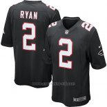 Camiseta Atlanta Falcons Ryan Negro Nike Game NFL Nino