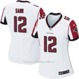 Camiseta Atlanta Falcons Sanu Blanco Nike Game NFL Mujer