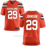 Camiseta Cleveland Browns Johnson Rojo Nike Elite NFL Hombre