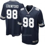 Camiseta Dallas Cowboys Crawford Negro Nike Game NFL Nino