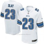 Camiseta Detroit Lions Slay Blanco Nike Game NFL Hombre