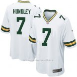 Camiseta Green Bay Packers Hundley Blanco Nike Game NFL Nino