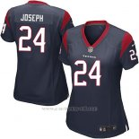 Camiseta Houston Texans Joseph Negro Nike Game NFL Mujer