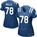 Camiseta Indianapolis Colts Kelly Azul Nike Game NFL Mujer