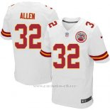 Camiseta Kansas City Chiefs Allen Blanco Nike Elite NFL Hombre