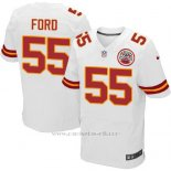 Camiseta Kansas City Chiefs Ford Blanco Nike Elite NFL Hombre