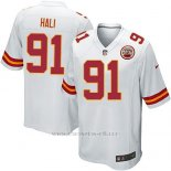 Camiseta Kansas City Chiefs Hali Blanco Nike Game NFL Nino