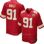 Camiseta Kansas City Chiefs Hali Rojo Nike Game NFL Nino