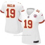 Camiseta Kansas City Chiefs Maclin Blanco Nike Game NFL Mujer