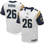Camiseta Los Angeles Rams Barron Blanco Nike Elite NFL Hombre