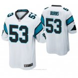 Camiseta NFL Game Hombre Carolina Panthers Brian Burns Blanco