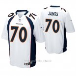 Camiseta NFL Game Hombre Denver Broncos Ja'wuan James Blanco